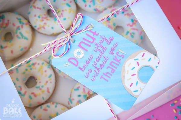 Screenshot of Donuts in a Box