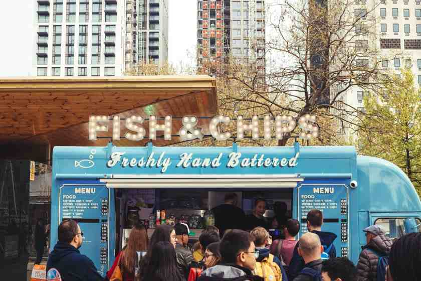 Screenshot of Fish and Chips Food Truck