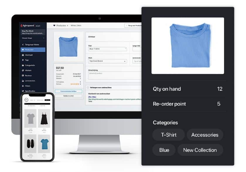 Screenshot of Lightspeed Fully Syncs Online Mobile and In-Store Sales
