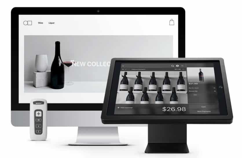Screenshot of Lightspeed Retail on Desktop and iPad