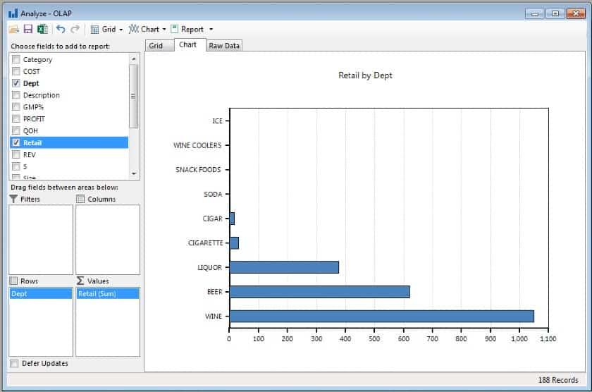 Screenshot of MPower Report