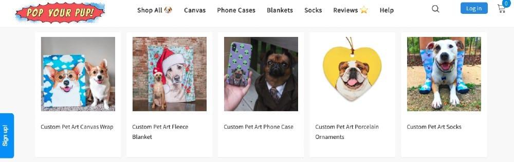 Screenshot of Pop Your Pup Customization