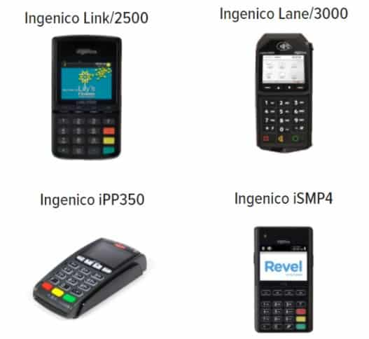 Screenshot of Revel Payment Devices