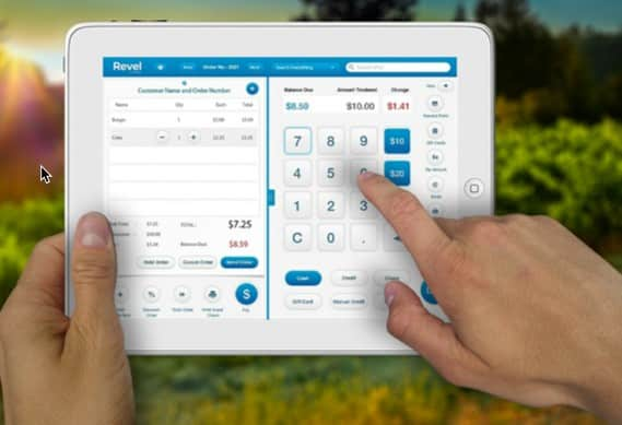 Screenshot of Revel Vines OS POS Integration