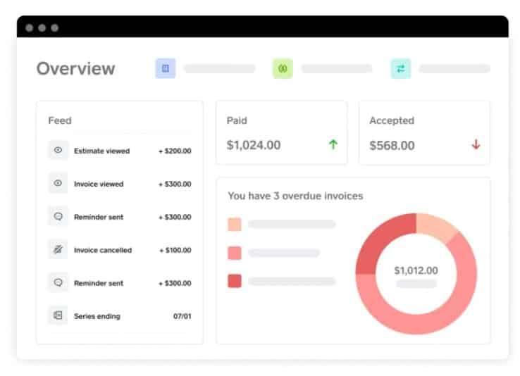 Screenshot of Square Invoice Tracker