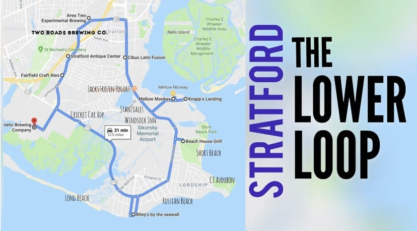 Screenshot of Stratford Lower Loop Map