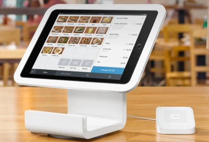 Screenshot of The Square Stand for iPads