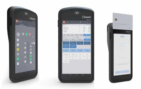Screenshot of ToastGo Handheld Pos