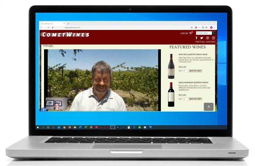 Screenshot of Vintegrate Featured Wines