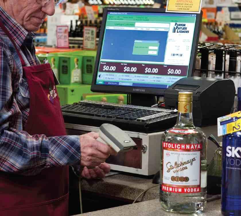 Screenshot of a Man Scanning Beverage Barcode