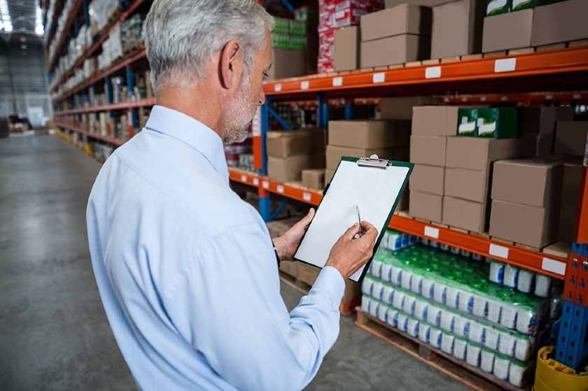 Screenshot of an Employee Checking Inventory