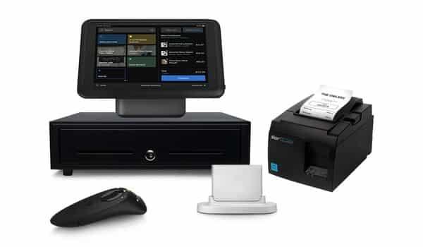 Screenshot of iPad Stand Card Reader Receipt Printer Cash Drawer and Barcode Scanner