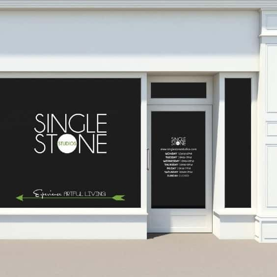 Window Decal from Single Stone Decals
