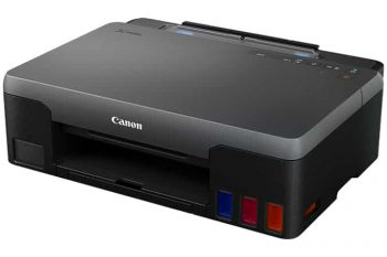 Screenshot of Canon Standard inkjet printer