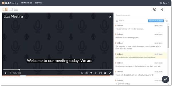 GoToMeeting Meeting Room