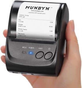 Screenshot of Portable Thermal printer