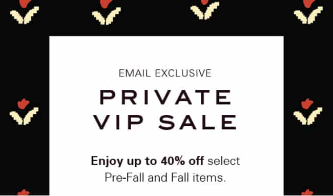 VIP Exclusive Black Friday Discount Offers