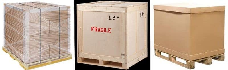 Screenshot of Freight Pallet Crate and Container