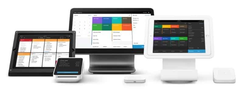 Screenshot of Square POS Hardware